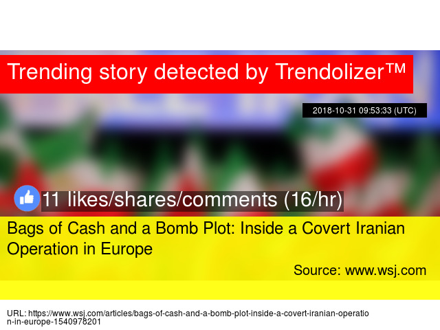 Bags of Cash and a Bomb Plot  Inside a Covert Iranian Operation in Europe -  Stats 668bc696d