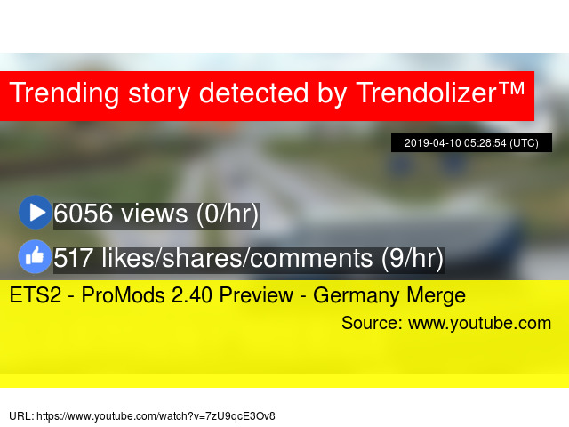 ETS2 - ProMods 2 40 Preview - Germany Merge