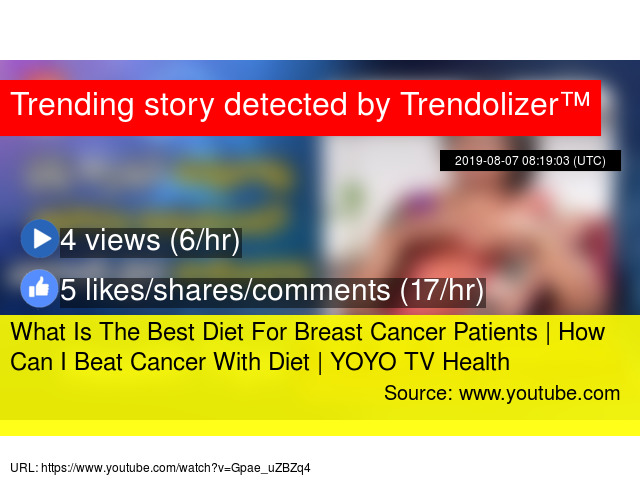 What Is The Best Diet For Breast Cancer Patients | How Can I